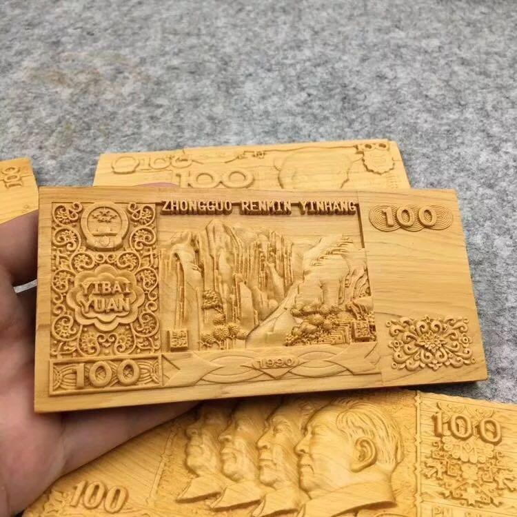 中国木雕之乡 家和福顺木雕挂件             家和