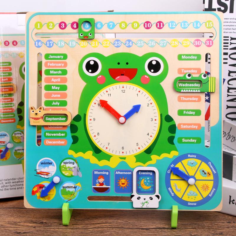 儿童益智启蒙玩具积木时钟,宝宝都喜欢哦!  8一9岁儿童玩具