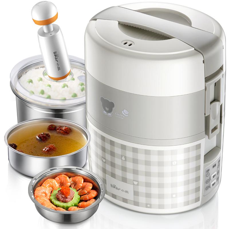 让你的美食等你,有电热饭盒就可以