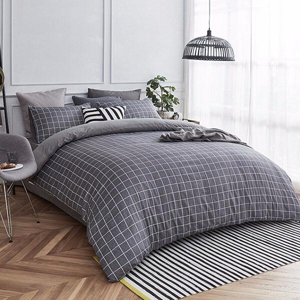 柔软的床上四件套,给你带来不一样的舒适体验