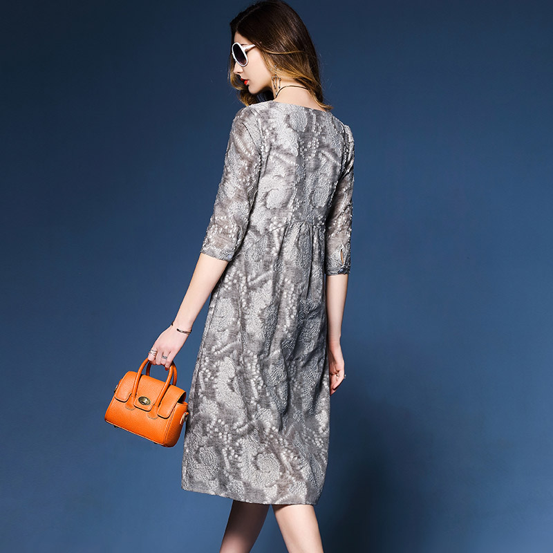 新款宽松显瘦时尚气质连衣裙优惠券