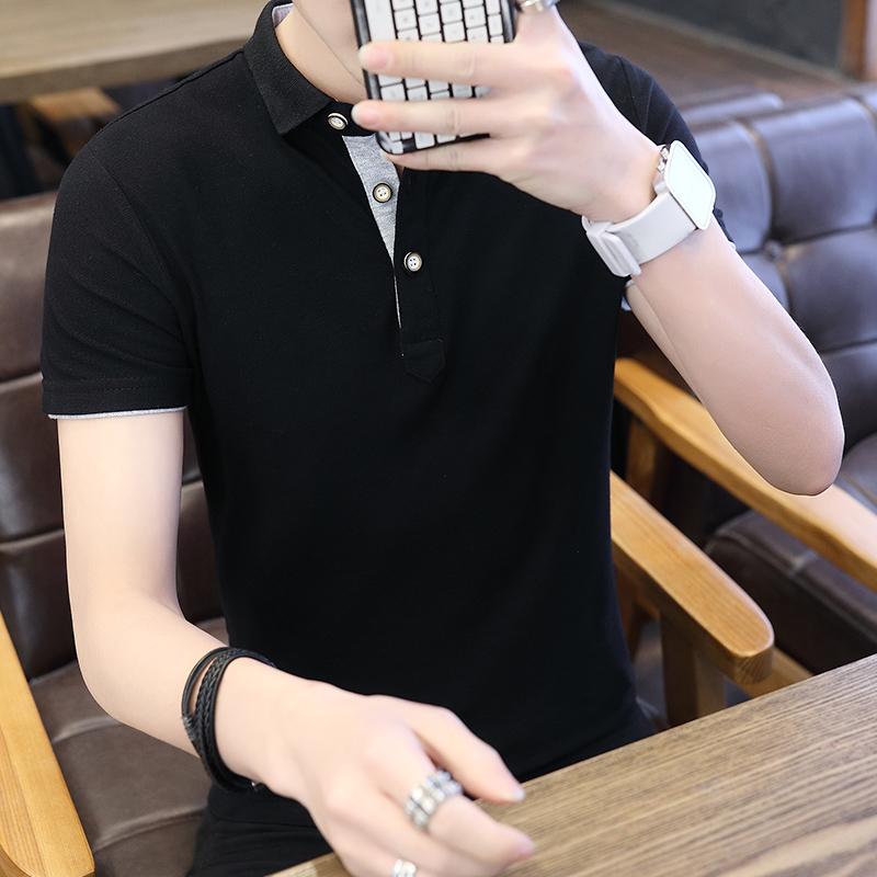 【夏季新款】男士短袖polo衫休闲上衣优惠券