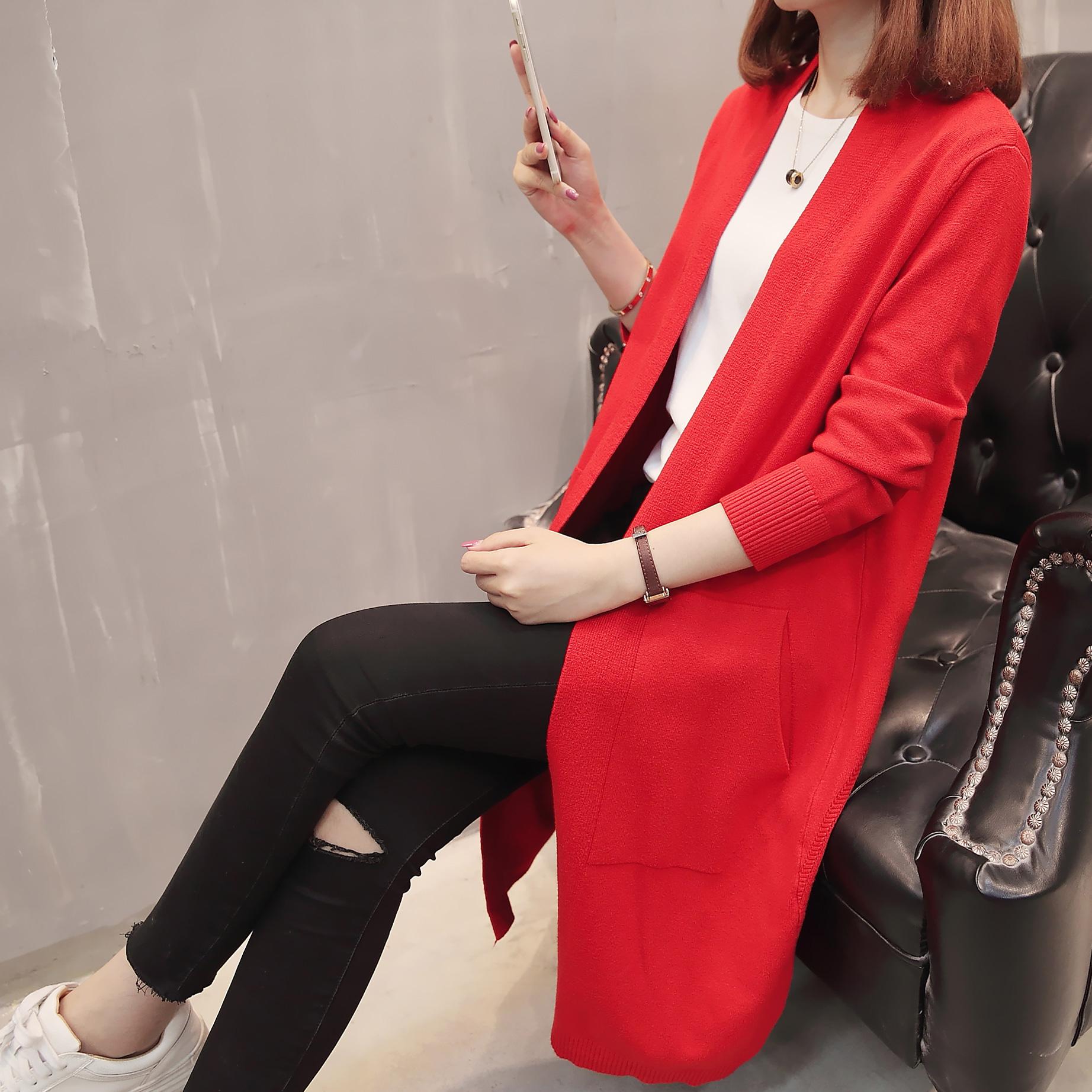 2018新款女韩版开衫女装优惠券
