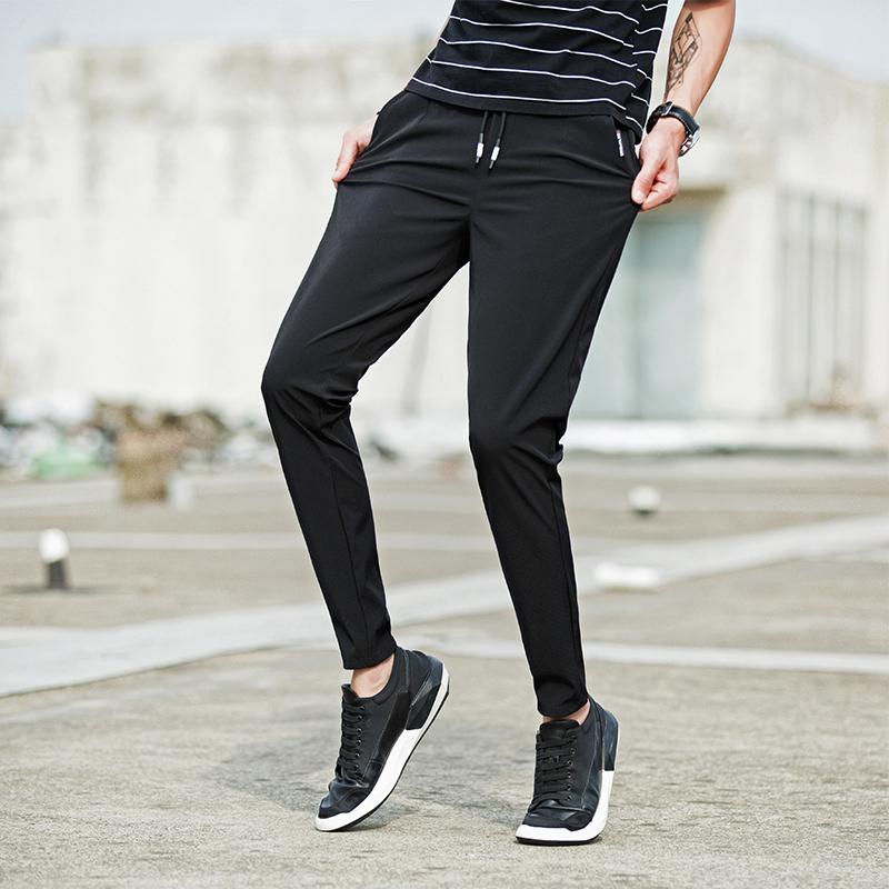 男裤夏季薄款新款男士休闲裤男百搭韩版优惠券