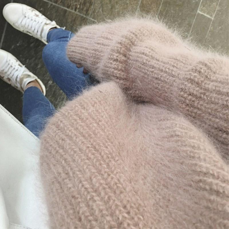 今年流行一种毛衣,毛茸茸的!搭配小脚裤减龄又暖和,上身美爆了