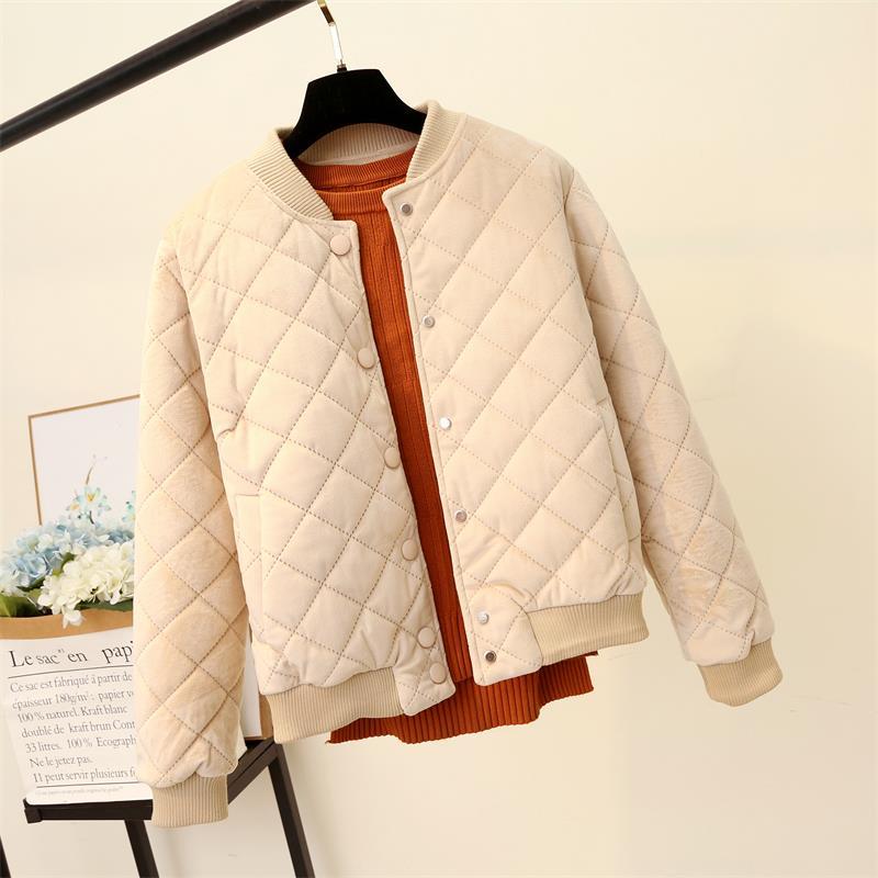 冬季小外套韩版加厚金丝绒bf原宿小棉袄优惠券