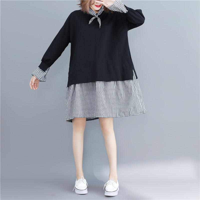 """秋天特流行这样的""""卫衣裙"""",时髦更显女人味,搭各种鞋子都美"""