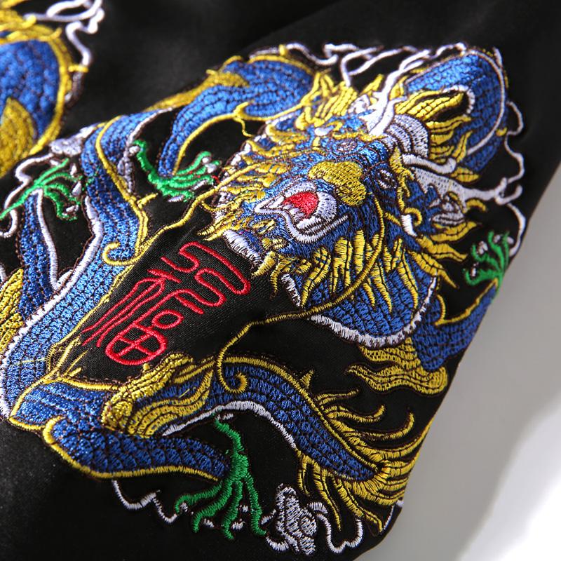 【龙纹刺绣】高档盘扣夹克中国风复古优惠券