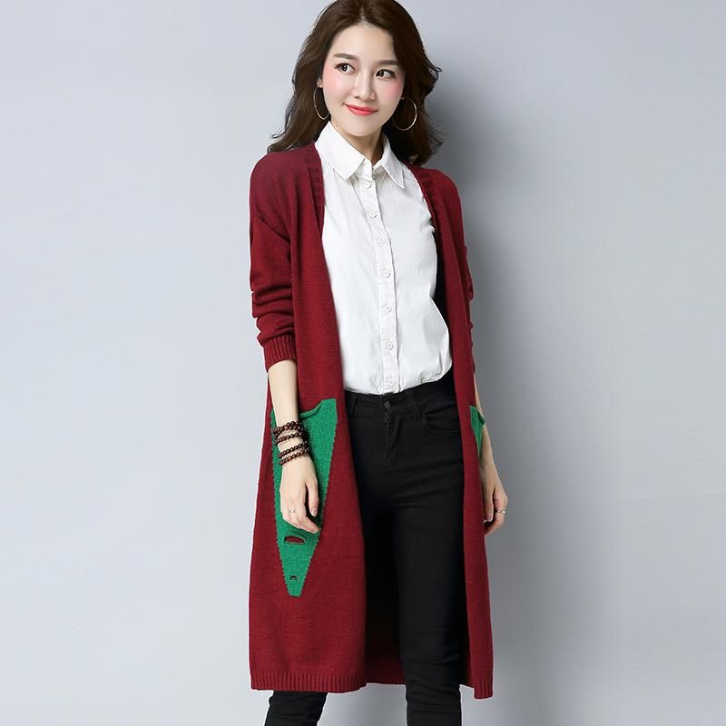 女式针织开衫长外搭披肩大毛衣外套383优惠券