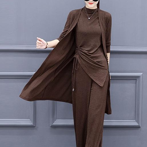 秋装长袖针织衫毛衣开衫女大码女装时装优惠券