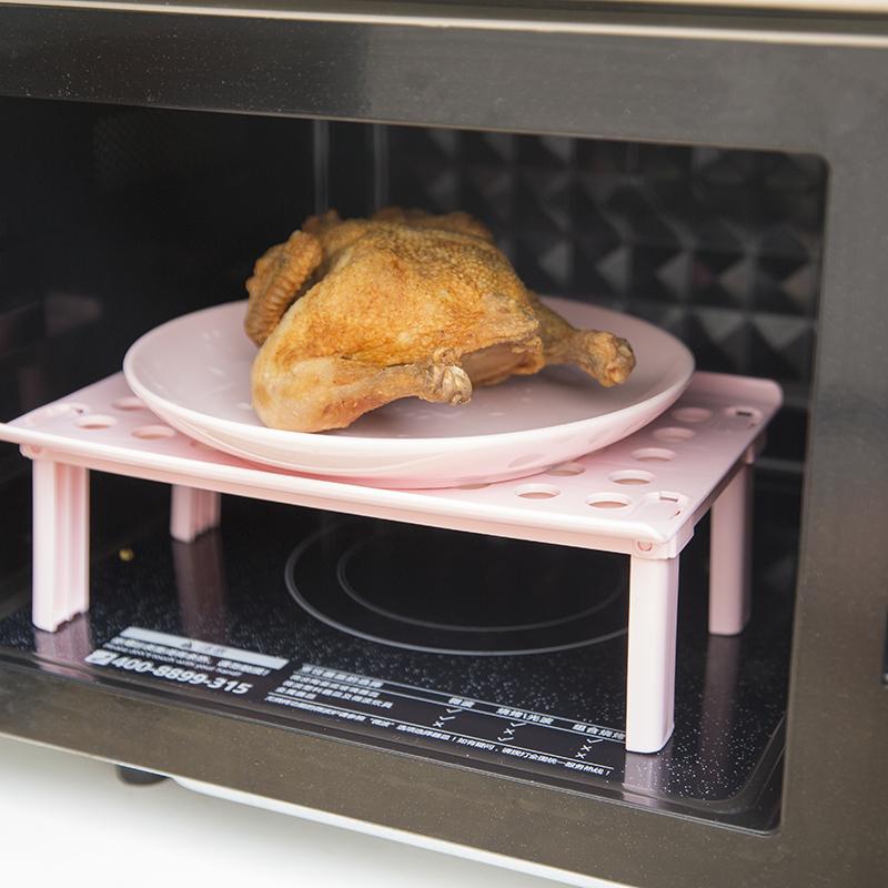 冰箱折叠层架隔板厨房用品收纳架优惠券