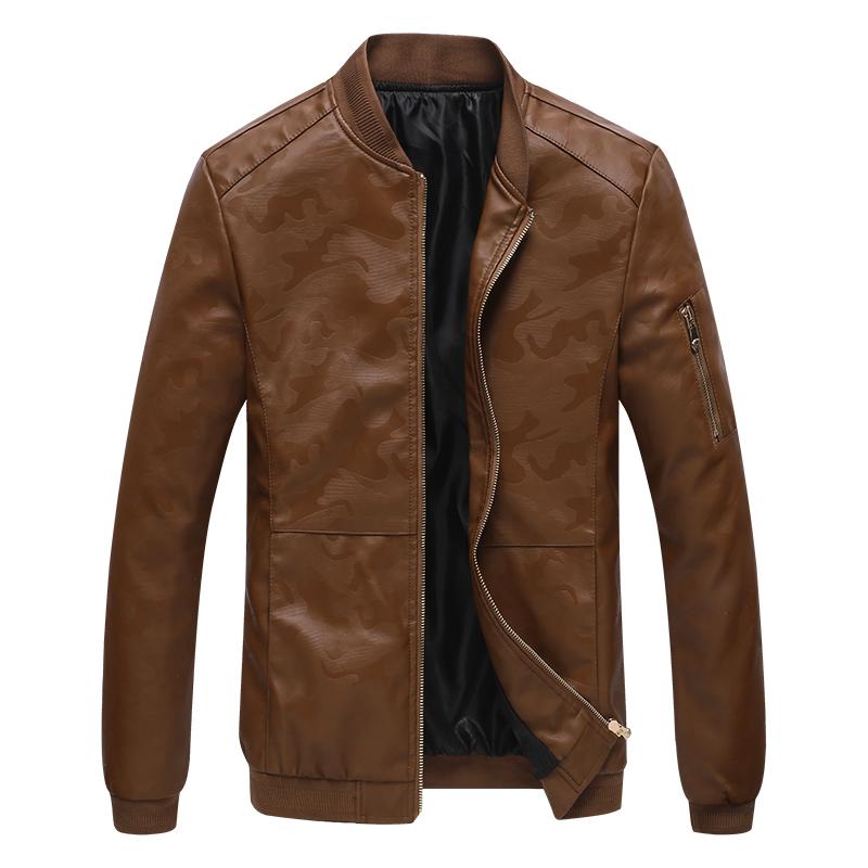 【富贵鸟】男士皮衣秋冬皮夹克上衣外套优惠券