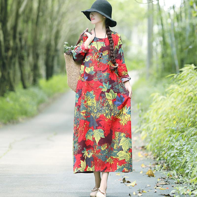 比真丝还洋气的棉麻裙,一款比一款洋气精致,显瘦减龄,美翻众人