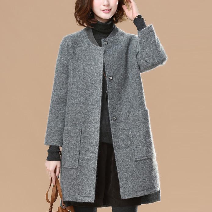 """入秋,比风衣还火的""""薄毛呢外套"""",70后老婆买了4件,确实美"""