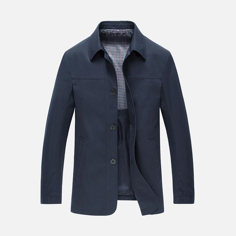 【啄木鸟正品夹克】中老年休闲夹克外套优惠券