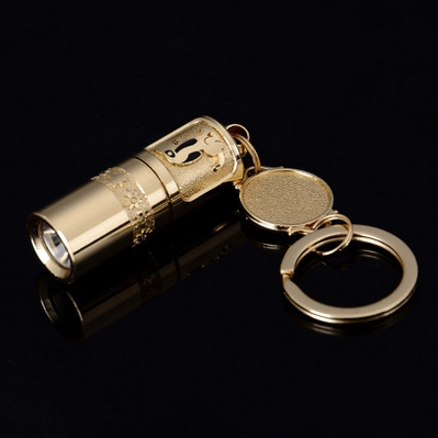 【钥匙扣手电筒】迷你手电筒led防水袖珍优惠券