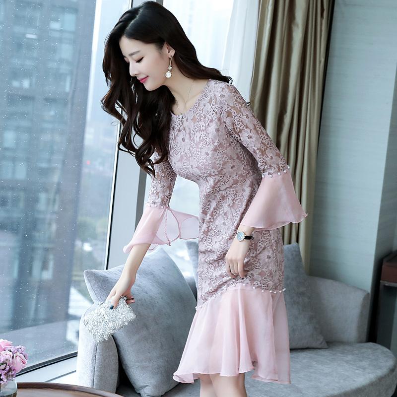 2018新款连衣裙,浪漫又优雅,穿上更加有吸引力