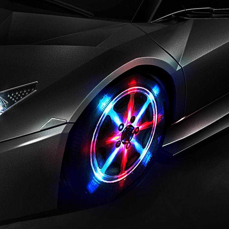 【宵岛】汽车轮毂灯 风火轮LED闪光灯优惠券