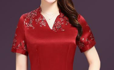 新款秋裙,适合48-62女人,57岁妈妈已买8件,件件美的慌