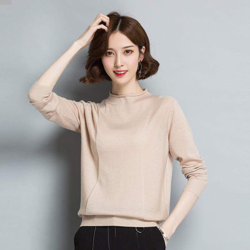 秋季新款女装纯色毛衣优惠券