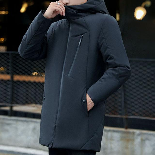 【时尚保暖棉服】中长款修身连帽加厚羽绒优惠券