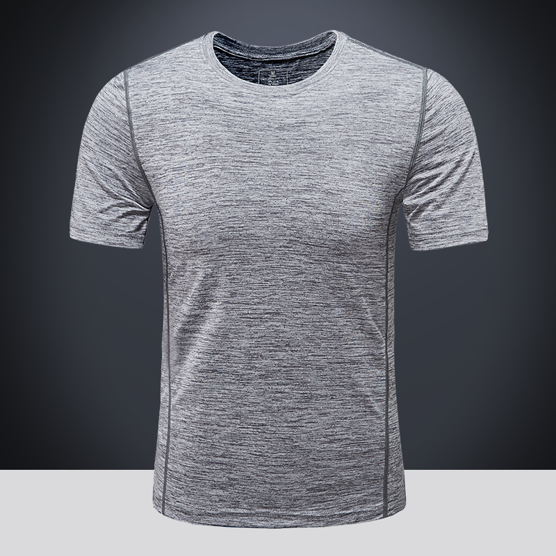 阳离子男式速干 轻薄透气 短袖T恤 q优惠券