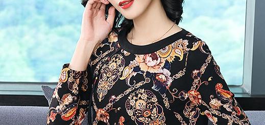 无意中遇到:这新上的秋裙,款款美嫩又高贵,提倡60后女人穿