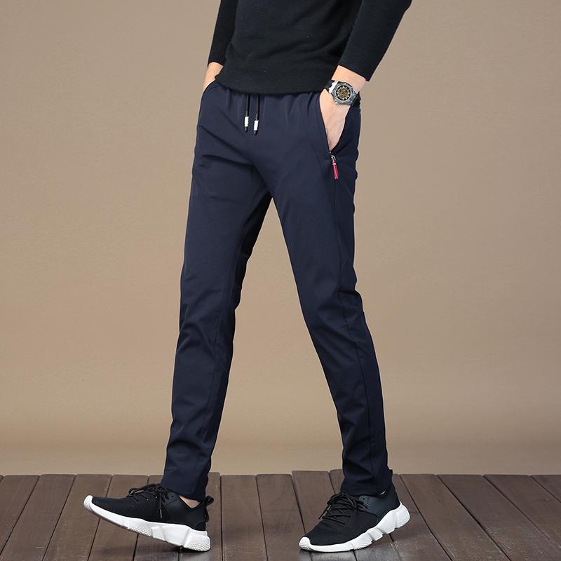 【男人必备休闲裤】男士弹力束绳宽松休闲裤优惠券