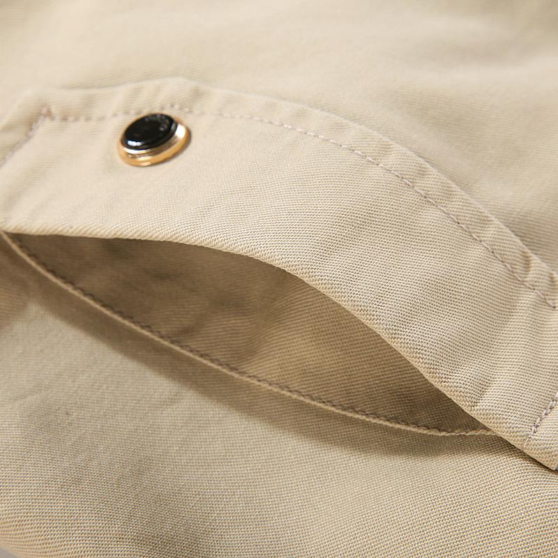 【休闲外套】水洗纯棉夹克衫优惠券
