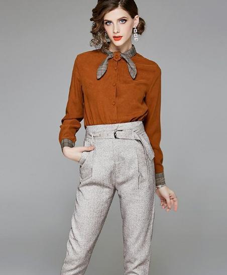 8月刚上新的套装,款款时尚洋气又不失优雅,简直美翻天了