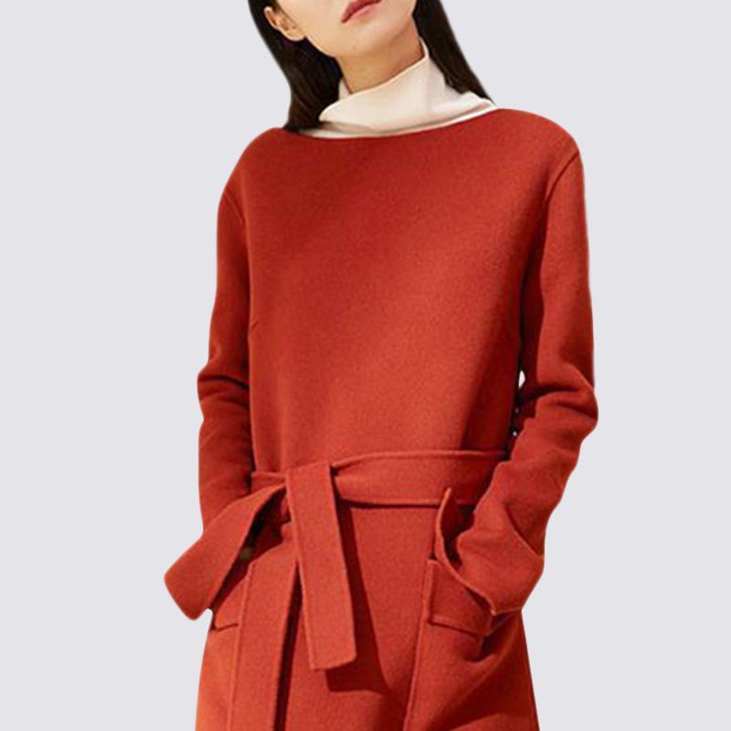 """一件""""橘红""""秋裙,十件旗袍也抵不上,适合四五十岁女人穿"""