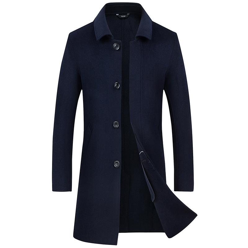 别再穿臃肿的羽绒服了,新款男士大衣重磅登场,保暖时尚有气场