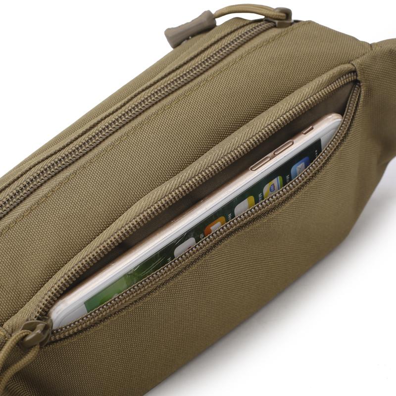 户外腰包多功能防水贴身手机包v优惠券