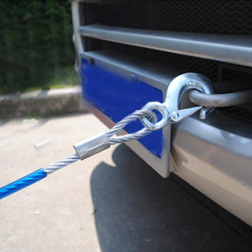 汽车钢丝拖车绳拉车绳子牵引绳托车绳救援优惠券