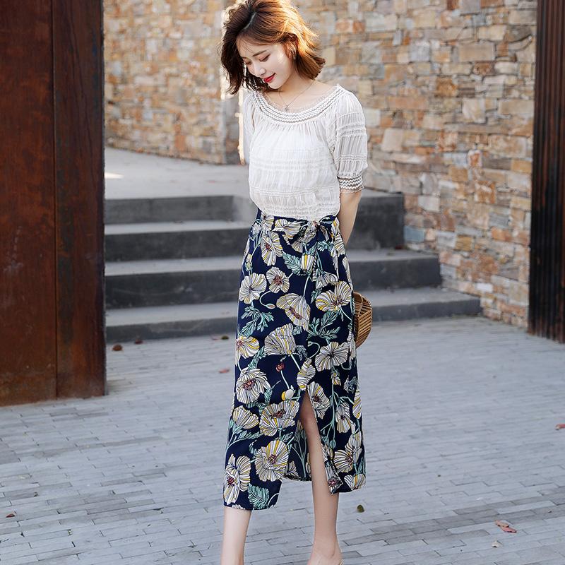 印花韩版裙子套装优惠券