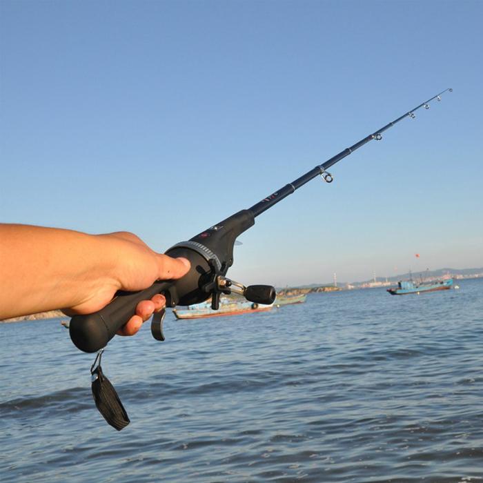 便携可折叠钓鱼竿精品钓竿ZSH160优惠券