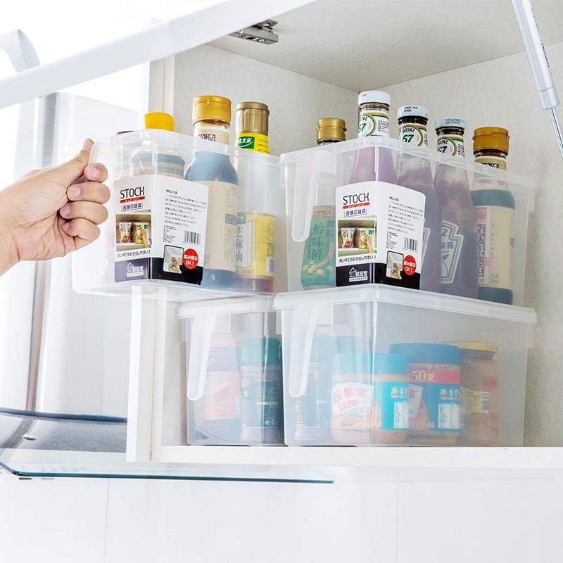 带手柄冰箱收纳盒保鲜盒带盖储物盒优惠券