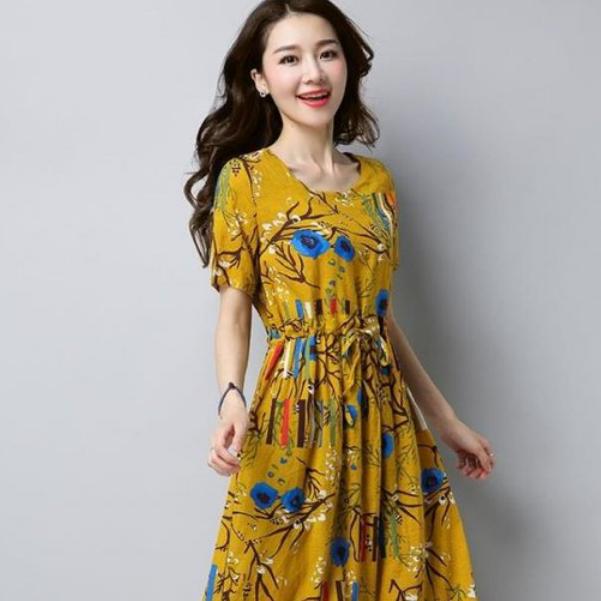 8月还是炎热,瞧瞧这6款时髦连衣裙,清爽洋气超级美