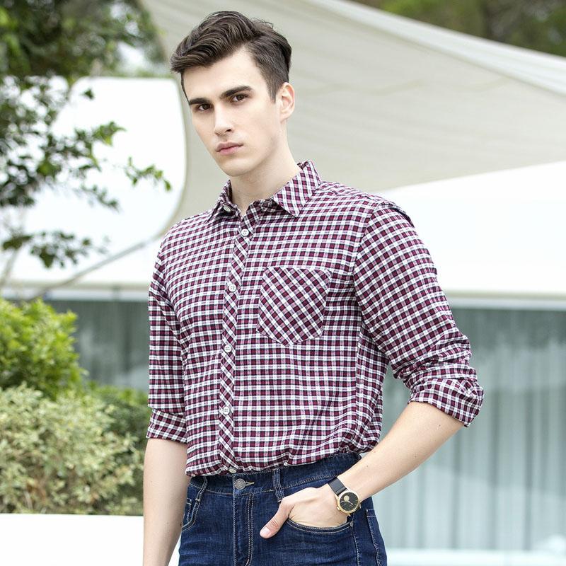 今年巨流行的欧美衬衫+休闲裤,时尚休闲范,男人味十足