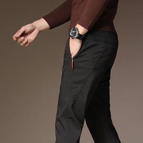 越来越多男人穿的宽松休闲裤,帅气有型配拉链,老公一次买五条