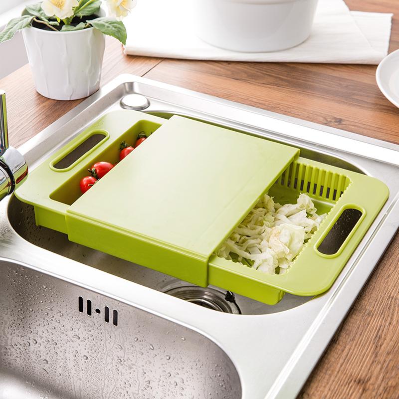 厨神器房水槽板切菜板粘板案板沥水板优惠券