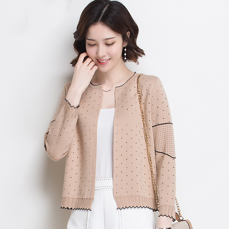 秋天一件开衫外套,时髦又百搭,出门方便,关键是好穿还不贵