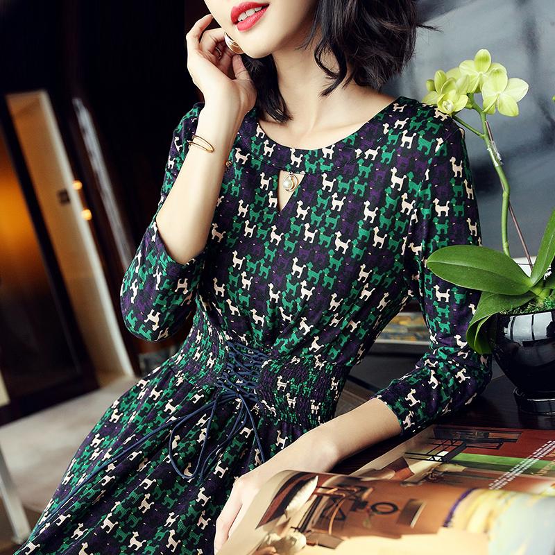 """上海女人有钱都不穿旗袍、皮草,独爱""""欧版裙"""",忒洋气有女人味"""