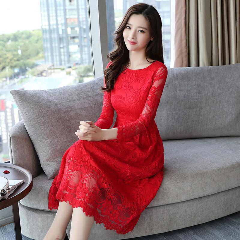 """中秋女儿结婚,她给我买了几件""""喜庆红""""裙,到时肯定美翻天"""