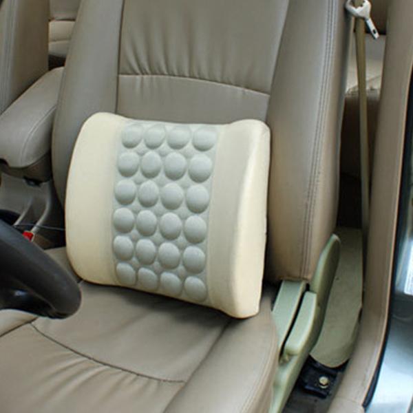 汽车电动按摩腰靠车用震动靠垫保健按摩腰垫优惠券