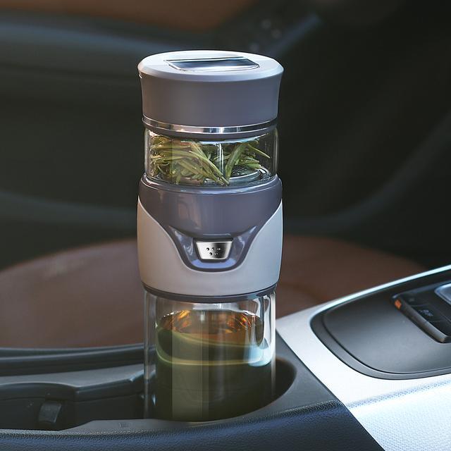 【一键茶水分离】双层玻璃杯 浓度自由控制优惠券