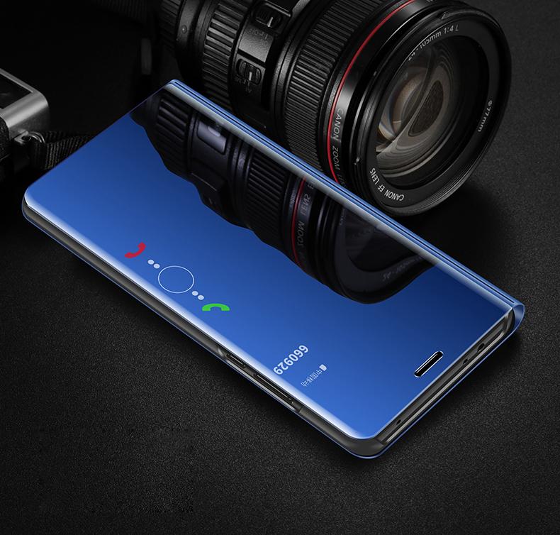 华为P20智能休眠镜面手机壳翻盖优惠券