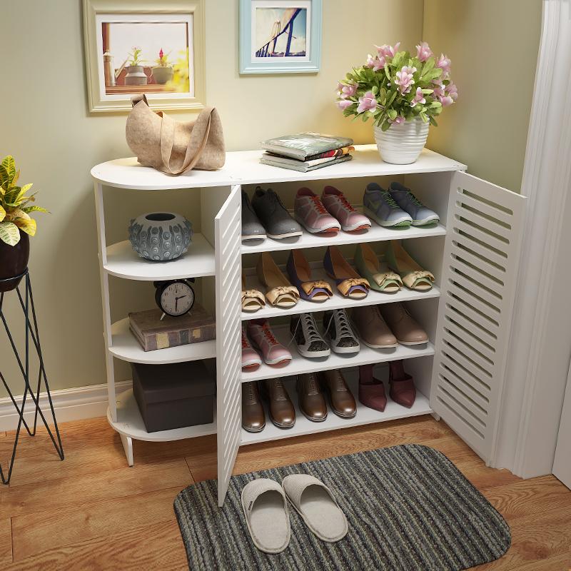 简易鞋柜组装家用鞋架多层置物架优惠券