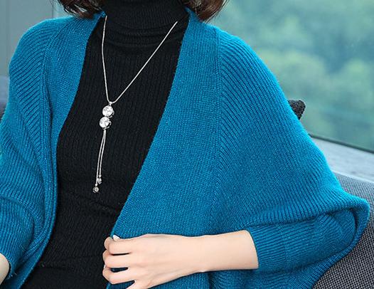 我滴天!9月新上的:针织开衫卖到爆,洋气还舒适,简直美翻了
