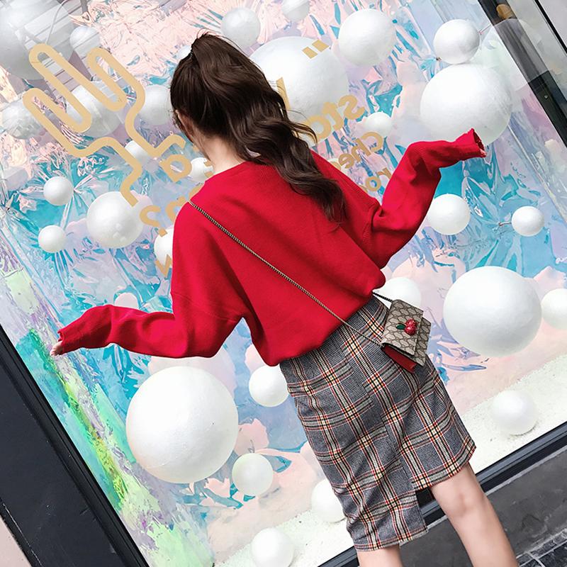 秋2018新款时髦小清新半身裙两件套优惠券